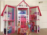 Barbie House with charters