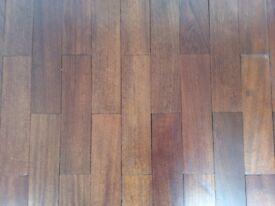 Mahogany 18mm 260 65 mm reclaimed flooring