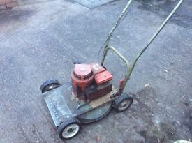 Hayterette rough cut mower for spares or repairs