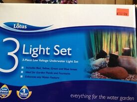 Lotus 3 light pond set