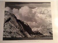 1946 print of Yosemite