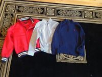 Ralph Lauren shirt, jacket and 1/4 zip