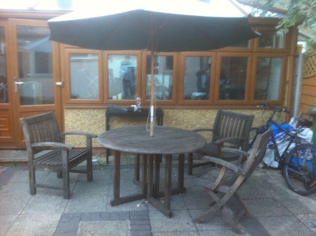 solid wood garden furniture