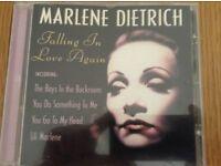 Marlene Dietrich Falling In Love Again CD