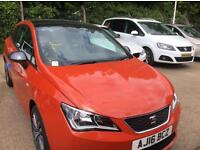 Seat Ibiza connect 1.2tsi 3dr metallic chilli red limited edition