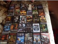 9 Box Sets of Movies and Tv Series,Plus 30 Mixed DVDs as Horror,Action,Thriller all Original £15.
