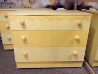 Children's Bedroom furniture - drawers unique and perfect for nursery or young girl
