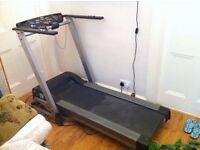 Carl Lewis Fitness MOT25 Motorised Foldable Treadmill running machine