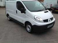 RENAULT TRAFIC 2.0 DCI 59 PLATE, SWB, £2895 MAY PX?
