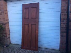 Vintage internal door