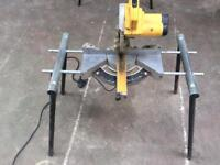 Dewalt mitre saw with stand fully working