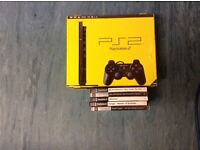 Ps2 with five games.