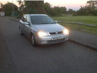 Vauxhall Astra 1.8 petrol silver