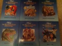 'The Wonderful World of Knowledge' Disney books, 23 books