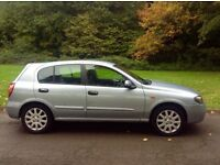 Nissan Almera 1.5cc year 2004 54000 miles 1 previous owner full service history