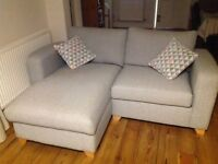 Left Hand Facing Chaise End 2 Seater Sofa