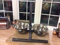 Dog bowls new