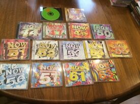 NOW that's what I call music x15 original DOUBLE CDs