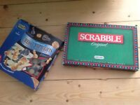 Scrabble & Chess/ Draughts set