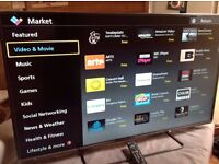 Panasonic 50-inch Smart 3D FULL HD LED TV - 50AS650,built in Wifi,Freeview HD