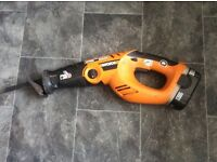 Worx 18 v reciprocating saw