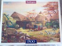 Waddingtons 1500 Piece Jigsaw Farm Scene