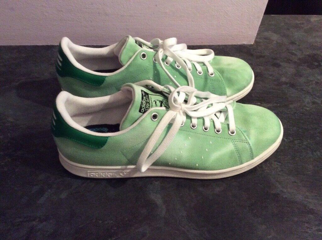 7f49a6cfc Adidas Pharrell Williams Hu Holi Stan Smith Shoes