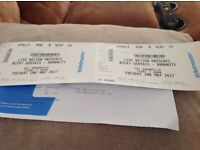 2 tickets for Ricky Gervais in Glasgow Tues 2nd May