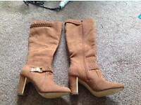 New suede boots size 5