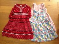 Girl dresses x 3 (age 3 to 4)