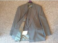 Mens two piece suit fully lined from Marks & Spencer's. Mens size 34 inch waist, 29 inch leg.