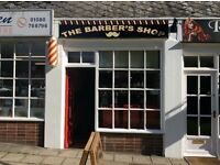 BARBER WANTED FULL/PART-TIME