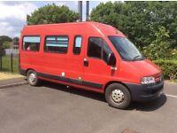 Brilliant Motorhome, camper, surf bus, weekend camper, touring van