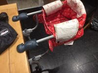 Chicco hook on high chair