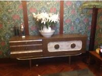 URGENT REDUCED!!!! Vintage retro kitsch sixties seventies Formica sideboard/cocktail cabinet.