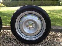 "16"" Steel wheel with Bridgestone Potenza REO10205/50R16 tyre"