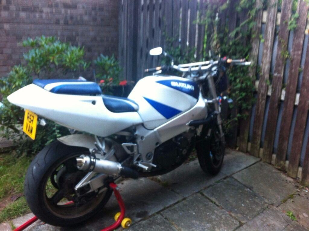 motorcycle streetfighter gsxr750 srad v fast | in Pontnewydd, Torfaen |  Gumtree