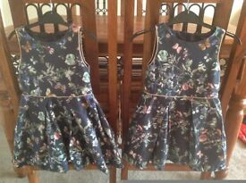 TWO (twin) beautiful Marks & Spencer 'AUTOGRAPH' dresses aged 2-3