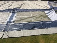 Isabelle Blue/Grey 970 awning in excellent condition. Only used four times.