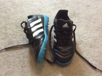 Child's adidas Astro turf trainers size 13 used good condition