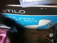 Takeaway toilet packs