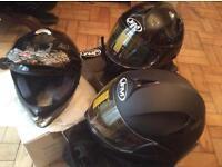3 Bn motorbike, motorcycle, helmets, jfm