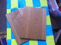 Wooden placemats/tablemats.