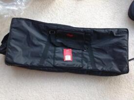 NEW Stagg K10-097 black nylon padded keyboard bag.