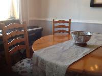 Nathan Pine Table and 4 Chairs - £80 ono