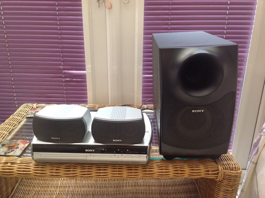 Sony dvd layer with sound system | in Ingol, Lancashire | Gumtree