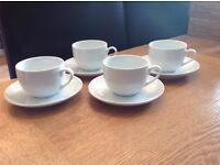 Porcelain Teacup and Saucer