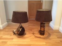 Table Lamps - excellent condition