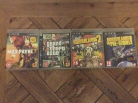 PS3 Games - £3 each