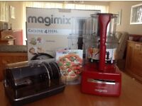 Magimix Red 4200XL Food Processor. Brand new, fully boxed with all accessories